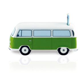 Tirelire VW T2 Ceramic - Vert