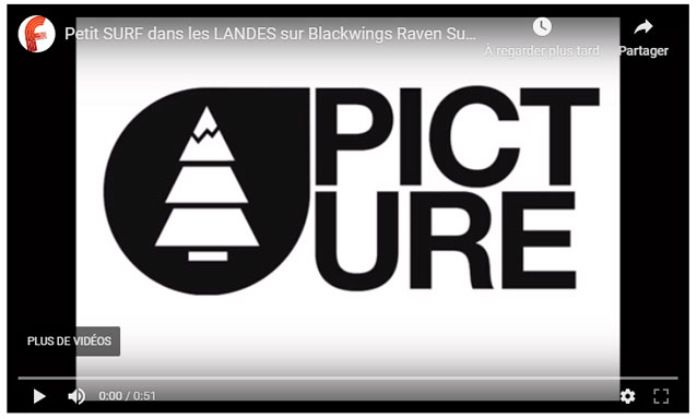 Vidéo surf Blackwings Shortboard Raven Carbon