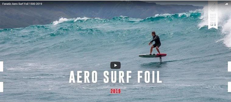 Vidéo du foil Aero de chez Fanatic