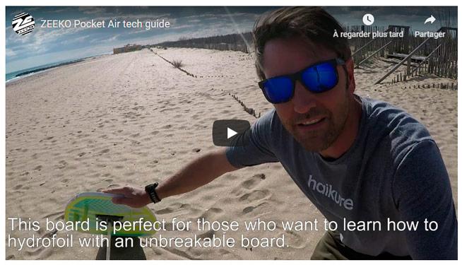 Vidéo Pocket Air V3 de chez Zeeko