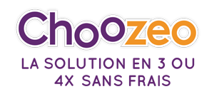 Choozeo, la solution 3 ou 4x sans frais.